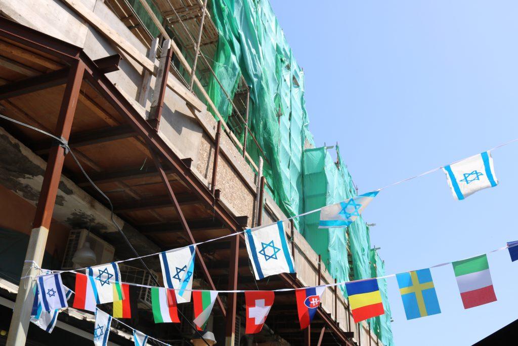 Tel Aviv foto 3 getrokken door Marieke Dermul