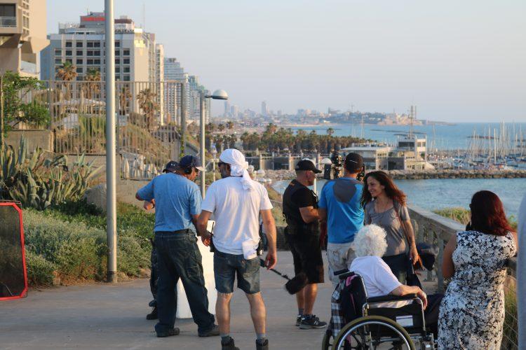 Tel Aviv foto 2 getrokken door Marieke Dermul